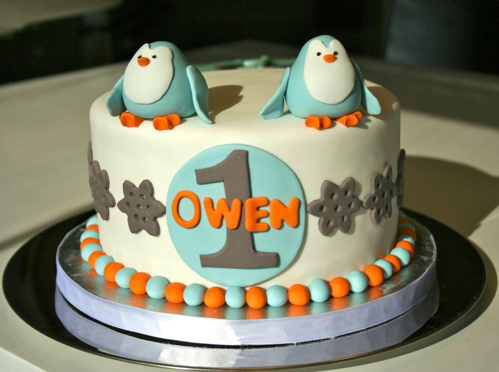 Penguin Birthday Cake Whisk Until Sweet Whisk Until Sweet