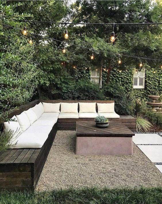 17 Hinterhof-Gestaltungsideen, die es wert sind, diesen Frühling nachgebildet zu werden #patiodesign