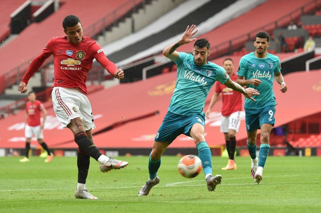 Pin By Ppornporn On ก ฬาฟ ตบอลล Manchester United Mason Greenwood Manchester