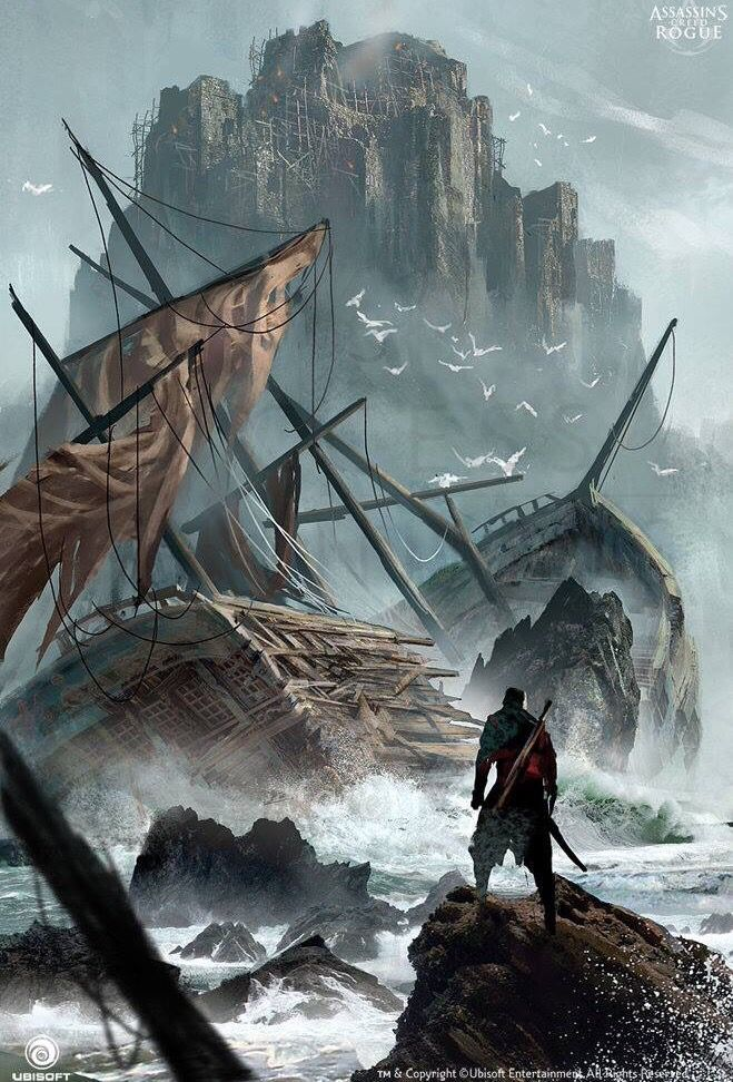 Assassin S Creed Rogue Concept Art Assassins Creed Artwork