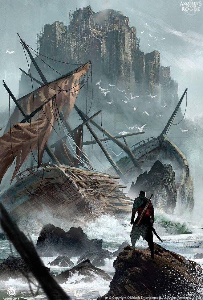 Assassin S Creed Rogue Concept Art Assassins Creed Artwork
