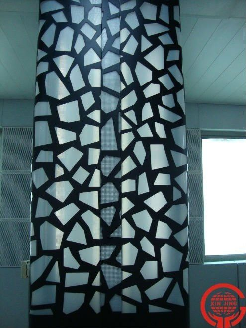 Modern Decorative Metal Column/ Perforated Metal Screen/metal Wall Panel Any  Perforation   Buy Decorative Metal Columns,Decorative Metal Screen,Metal  Wall ...