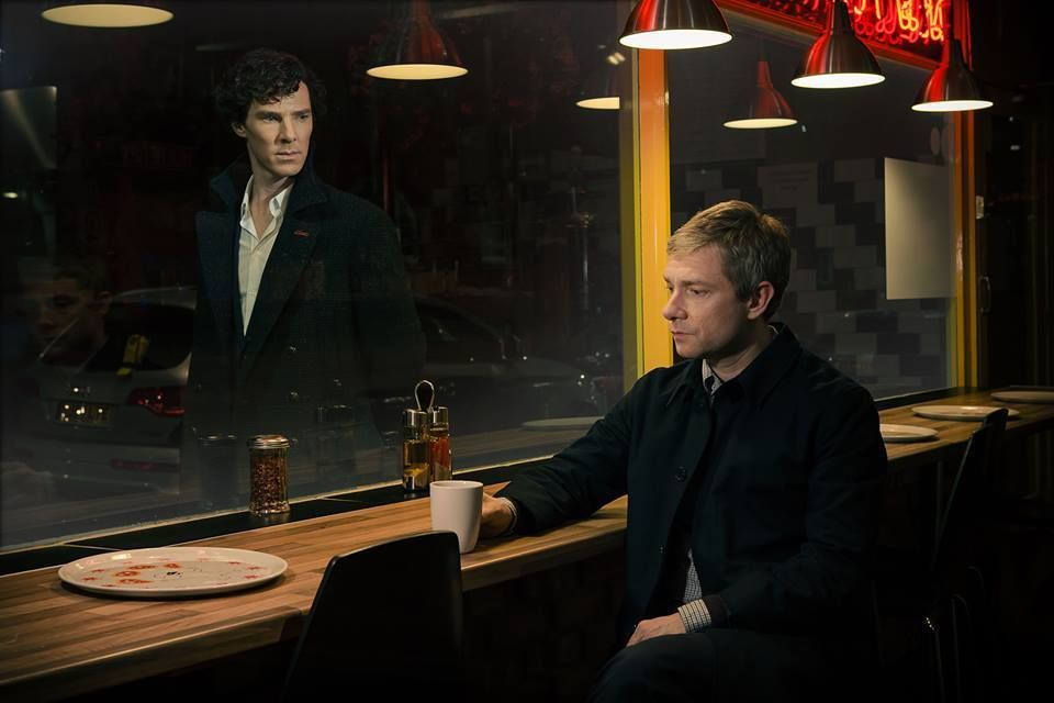 The first official image from series three of Sherlock!