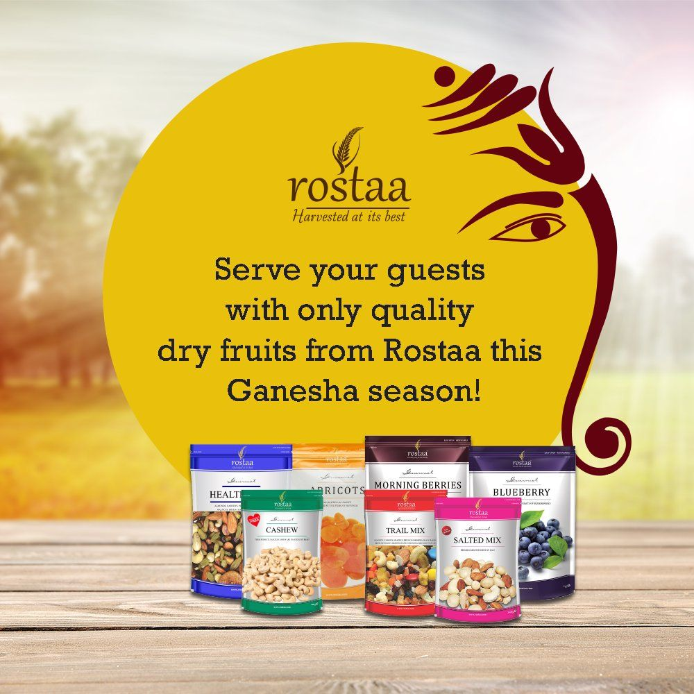 Have your jars stocked up with the top notch dry fruits from Rostaa. Buy -  http://goo.gl/fCnVi2