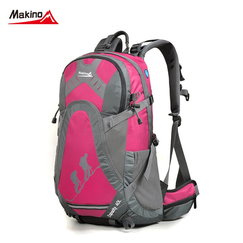 66cd2fc8100a Makino Outdoor Sport Bags 40L Waterproof Nylon Women And Men Travel ...