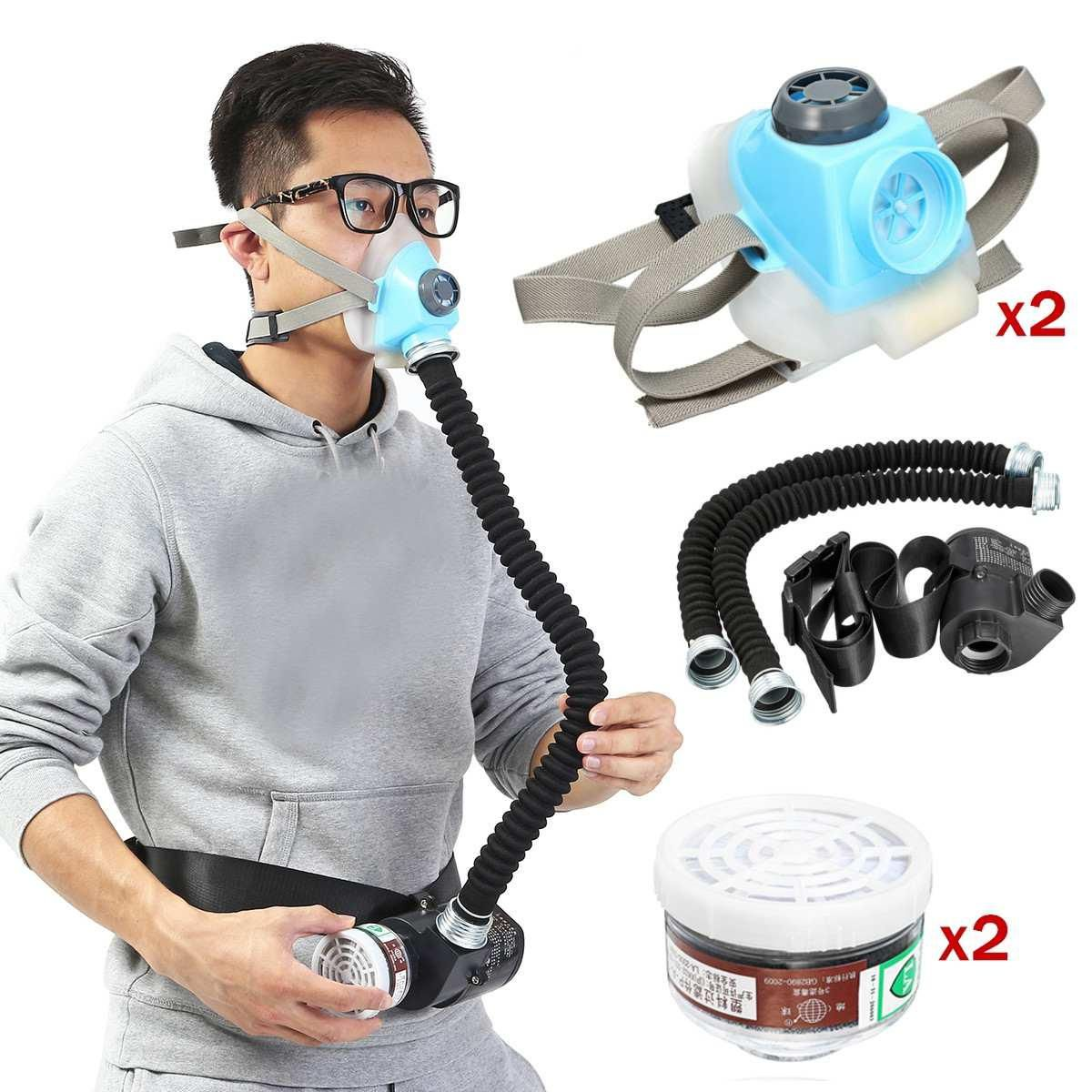 air supply respirator mask