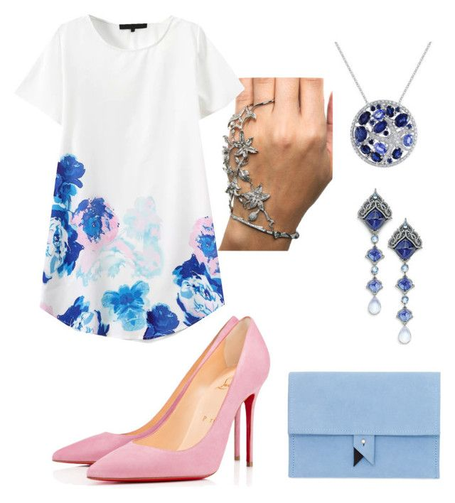"""""""#139"""" by jullia-raquel on Polyvore featuring Dora, Effy Jewelry and Christian Louboutin"""