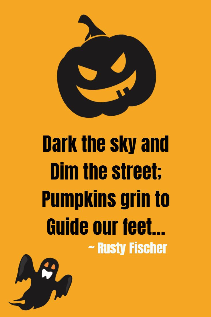 pumpkins grin a halloween poem | halloweeny screamy! halloween