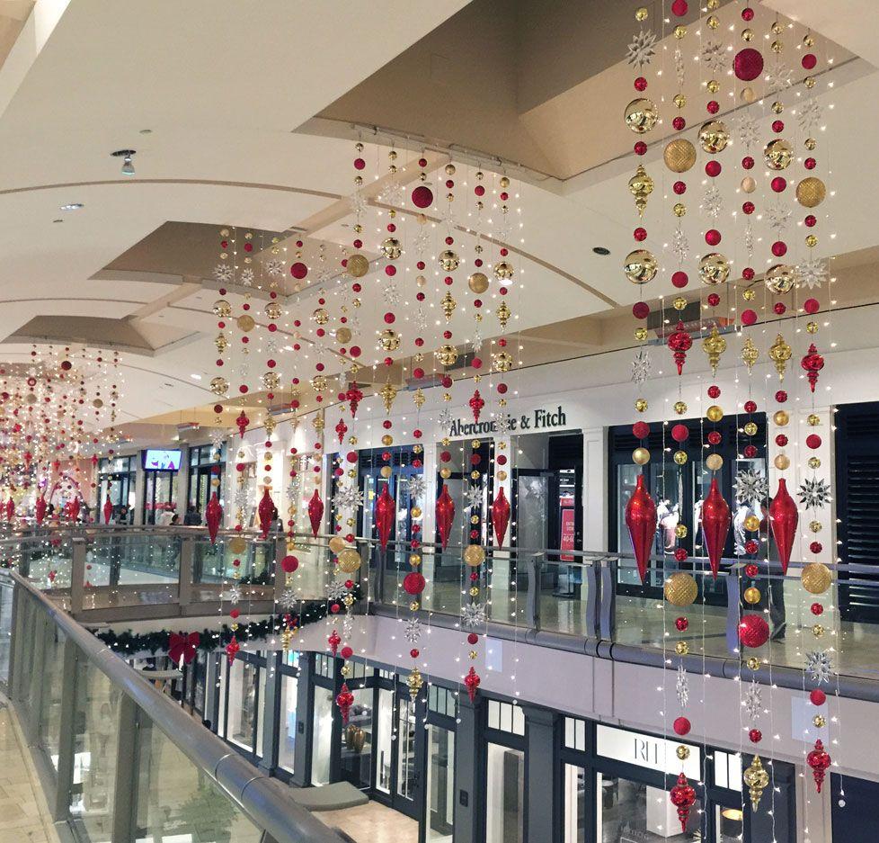 Mission Viejo Mall Overhead Decor Ornament Drops Ornament Decor