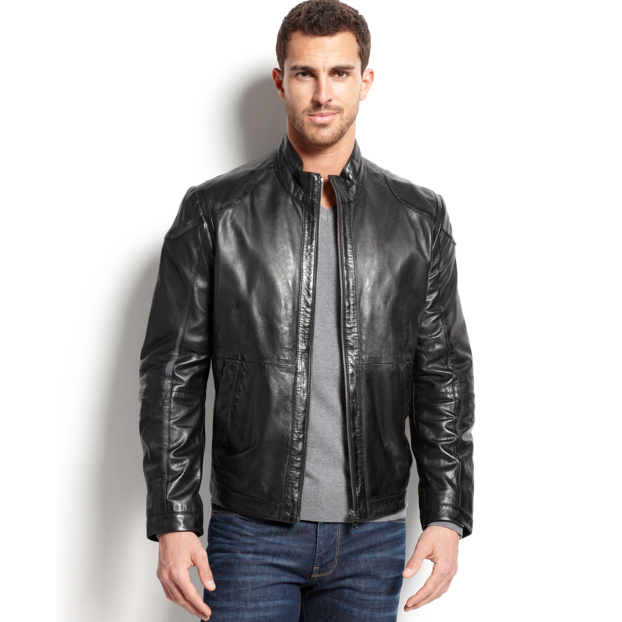 Leather jacket yahoo answers - Clint Mauro