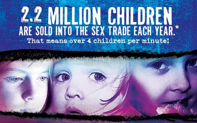 2.2 Million Children are sold into the sex trade!!