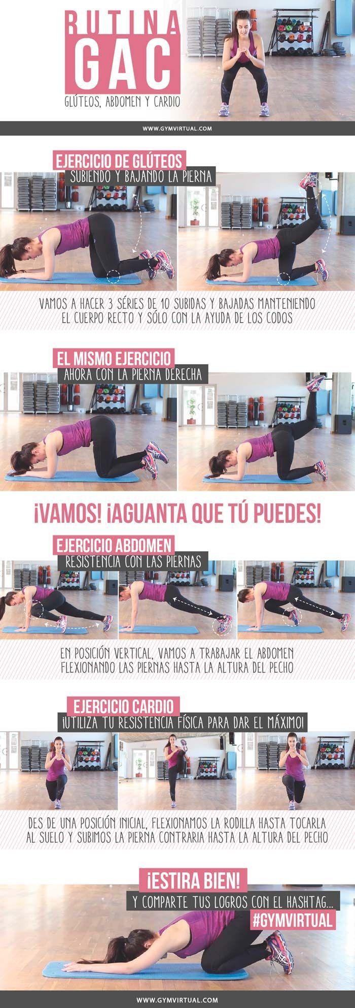 Tablas para hacer ejercicio en gimnasio