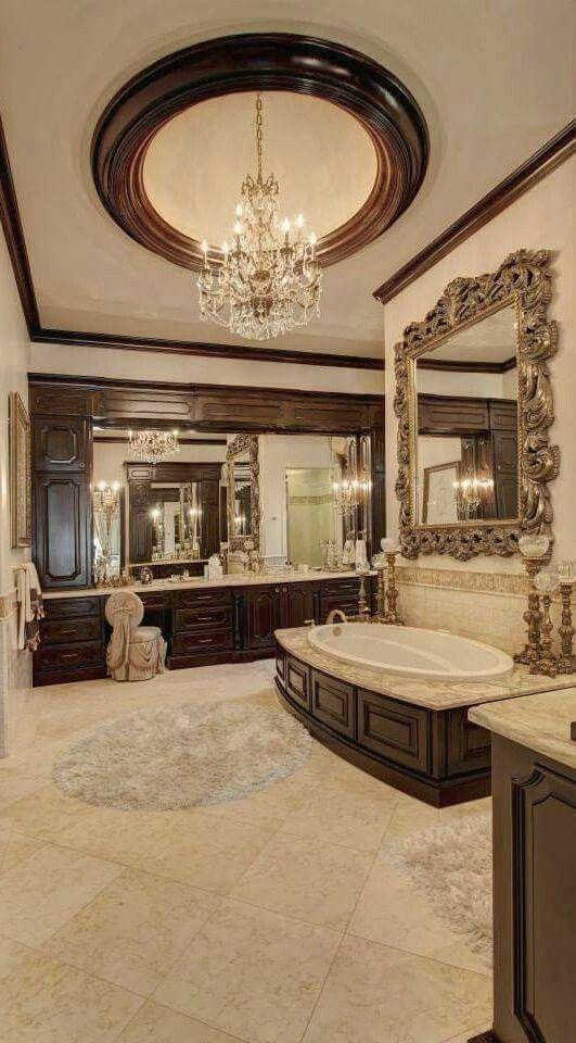 luxury interiors - interior design Ванная комната Pinterest