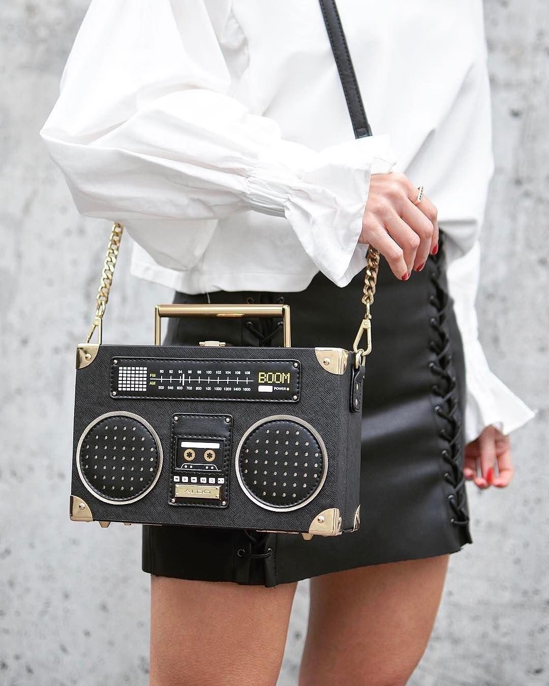 b55f952c3 ALDI boom-box handbag tiezzo! | ready to wear in 2019 | Novelty ...