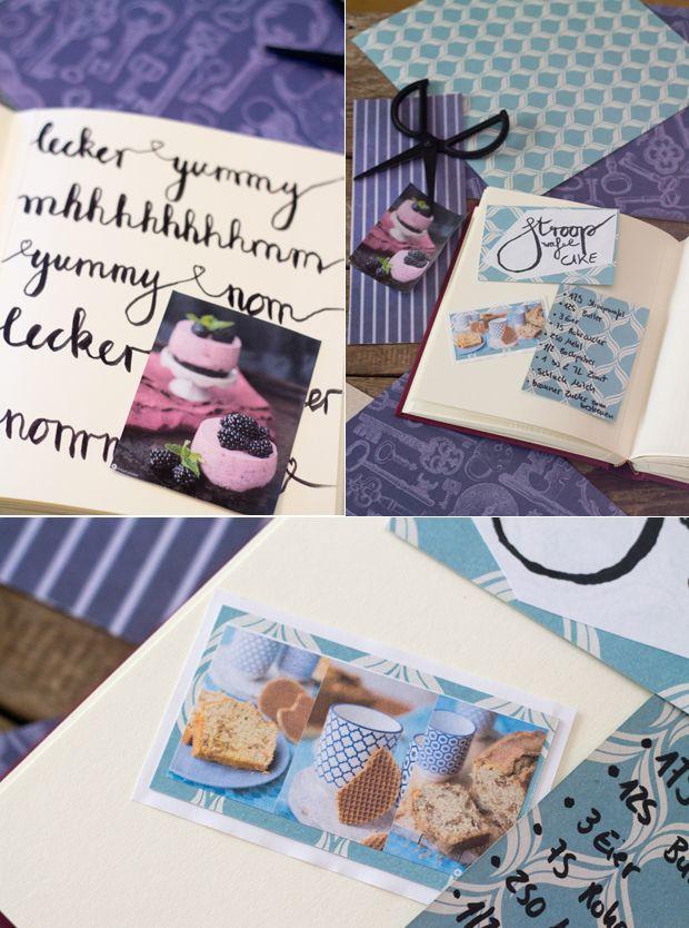 fotoalbum gestalten sch ne ideen f r ein geschenk fotoalbum gestalten rezeptb cher und. Black Bedroom Furniture Sets. Home Design Ideas
