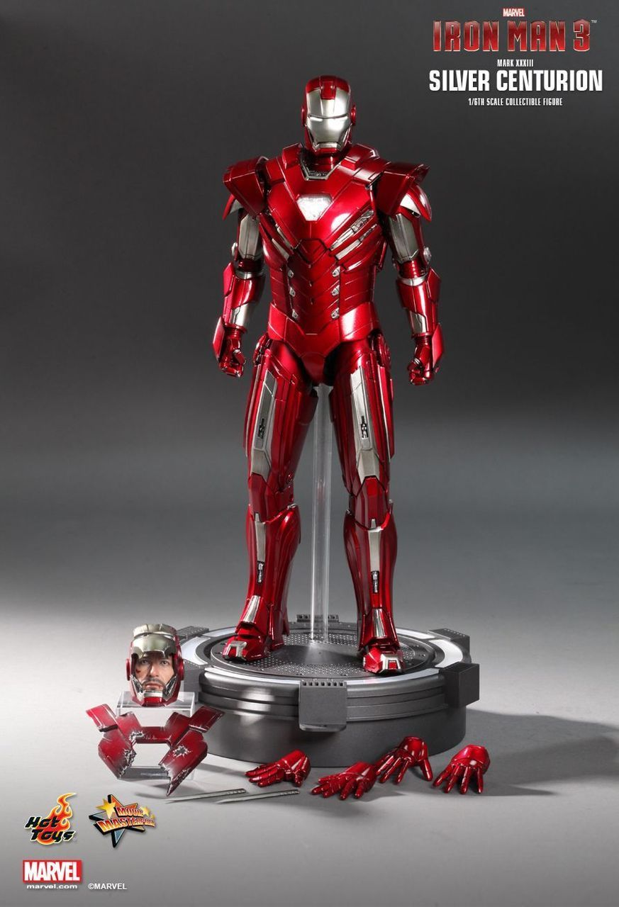 HOT TOYS MMS213 IRON MAN 3 SILVER CENTURION (MARK XXXIII) 1/6TH SCALE COLLECTIBLE FIGURINE  (http://www.kghobby.com/hot-toys-mms213-iron-man-3-silver-centurion-mark-xxxiii-1-6th-scale-collectible-figurine/)