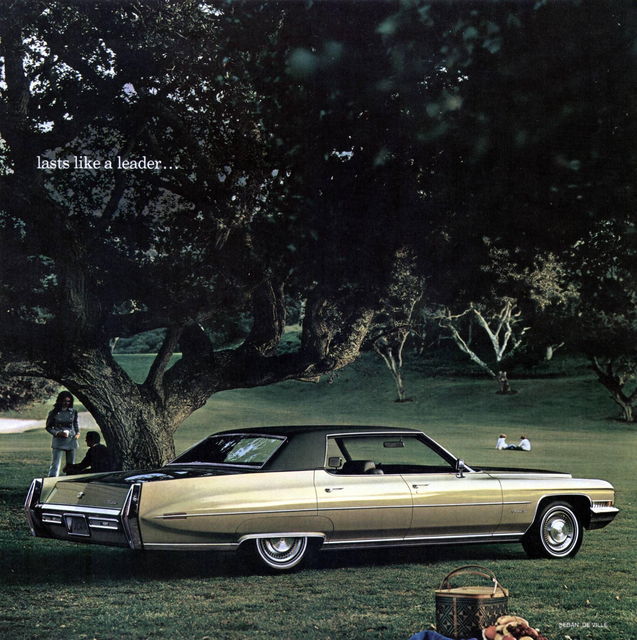 Wilson Cadillac: 1971 Cadillac Sedan Deville - My Dad's Car When I Was A Kid