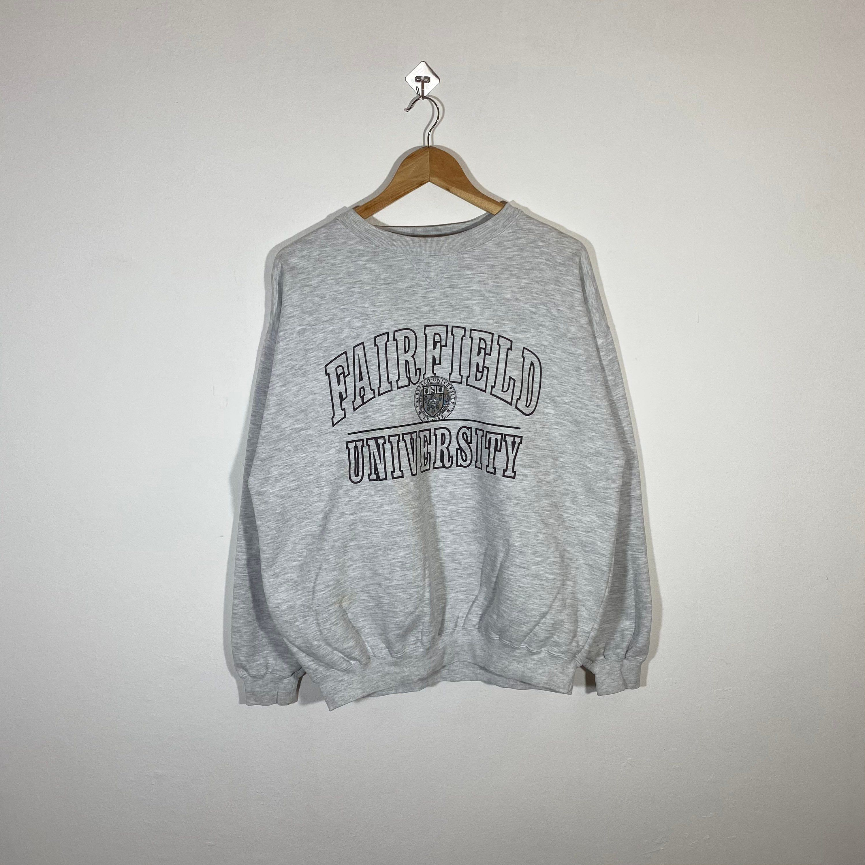 Vintage 90s Fairfield University Sweatshirt Fairfield Crewneck Etsy Sweatshirts University Sweatshirts Pullover [ 3000 x 3000 Pixel ]