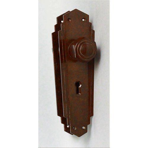 Genuine Art Deco Bakelite Door Knobs | Door knobs, Door handles and ...