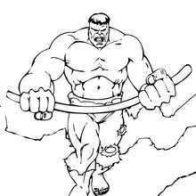 Armed Hulk Coloring Page Super Heroes Coloring Pages The