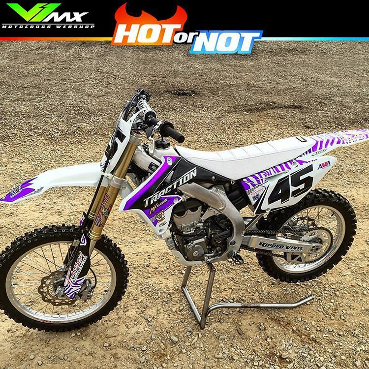 hot or not? suzuki rmz450 build@neilwoerner #hotornotmx