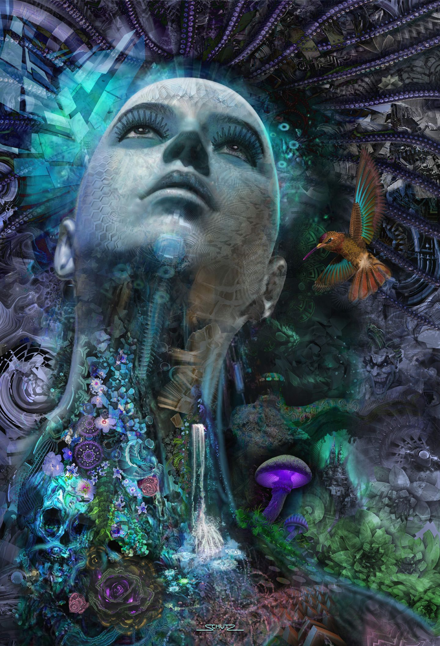 Visionary Art | Divine Feminine in 2019 | Visionary art
