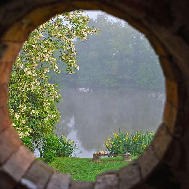 Taken in Tresnay, France looking out of an upstairs window!!