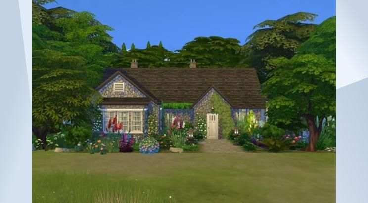 Bella And Edward S Cottage Edwards Homes Sims 4 Sims