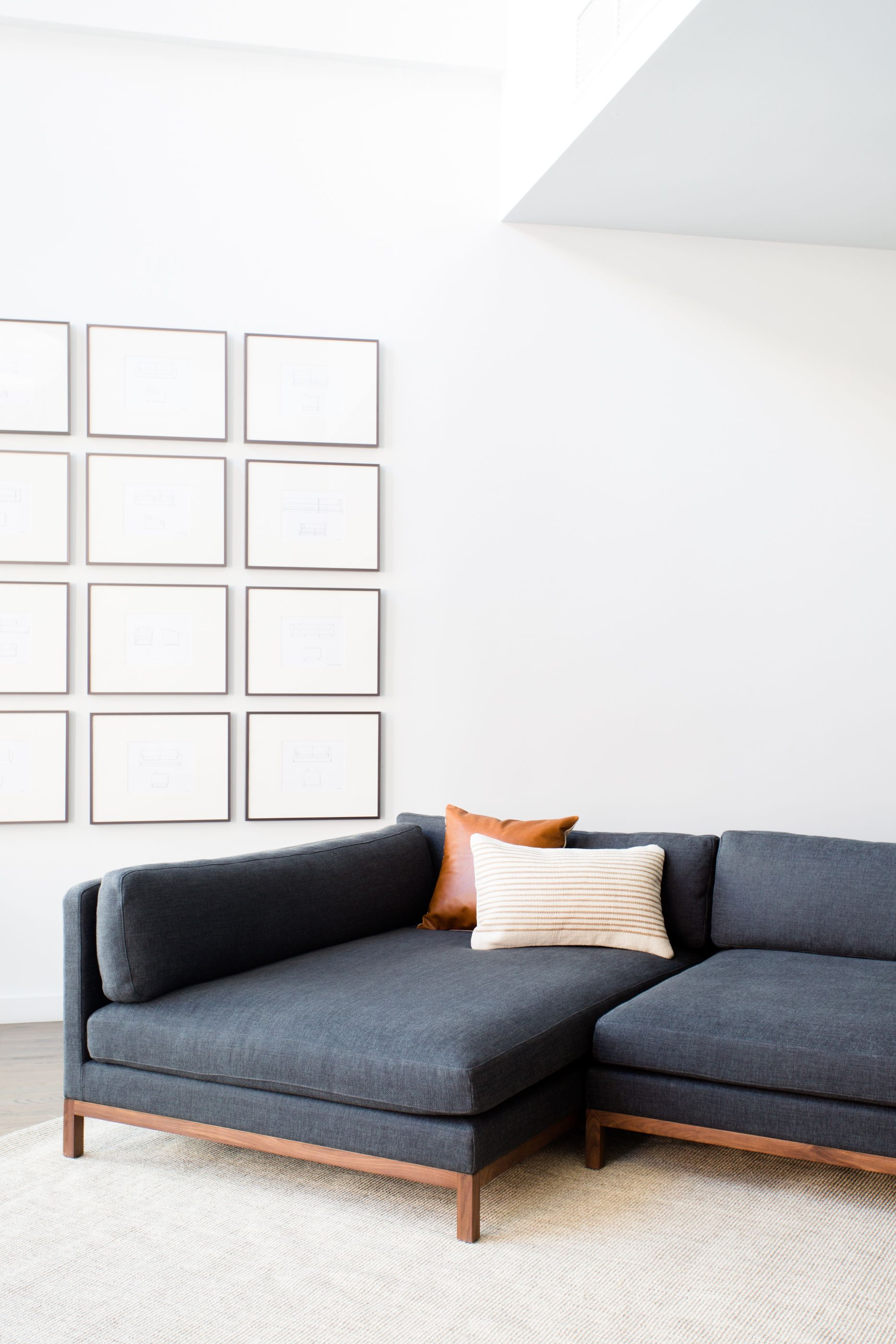 The Jasper Sofa From Interior Define Combines Comfort And Style Clean Lines Including A Simple Solid Wood Custom Sectional Sofa Beautiful Sofas Clean Couch