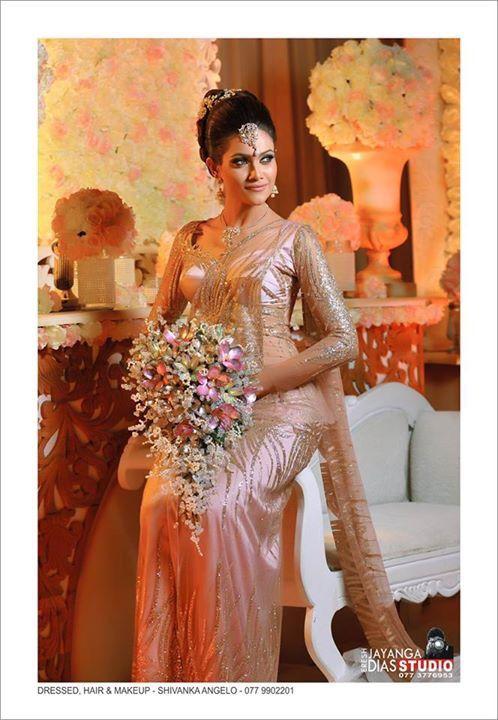 Modern Kandyan Bride Bridal Bridal Dresses Indian