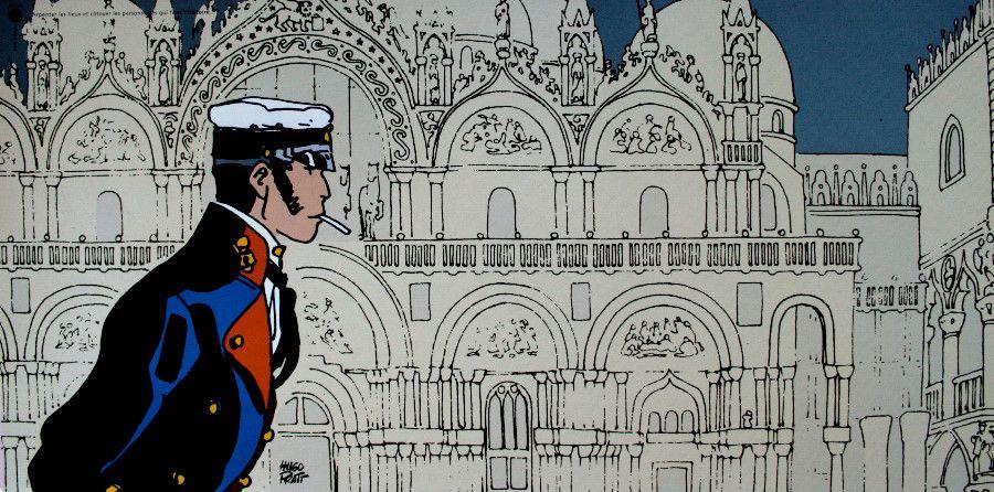 Hugo PRATT : Corto Histoire : 100 x 50 cm, Reproduction in Fine Art print on a heavyweight satin finished Art paper