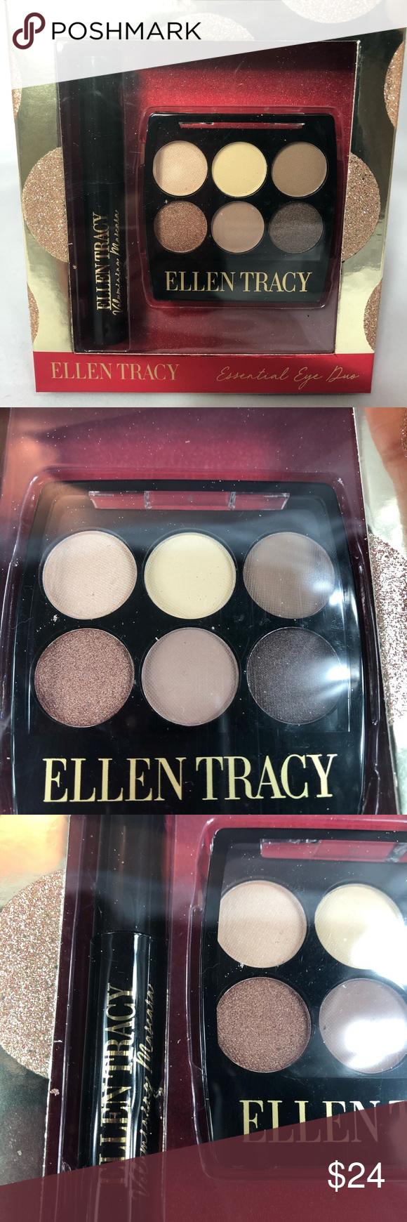 (3/25)ELLEN TRACY ESSENTIAL EYE DUO MAKEUP SET