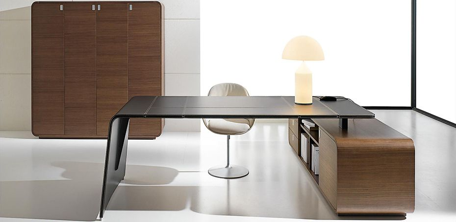 Leather Executive Office Desks Italian Leather Table For The Design