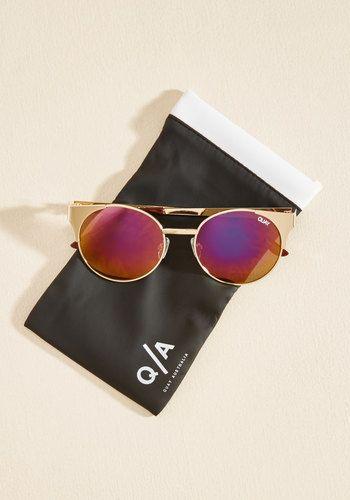 Quay Eyewear Day to Urbanite Sunglasses in Pink Lenses - $49.99