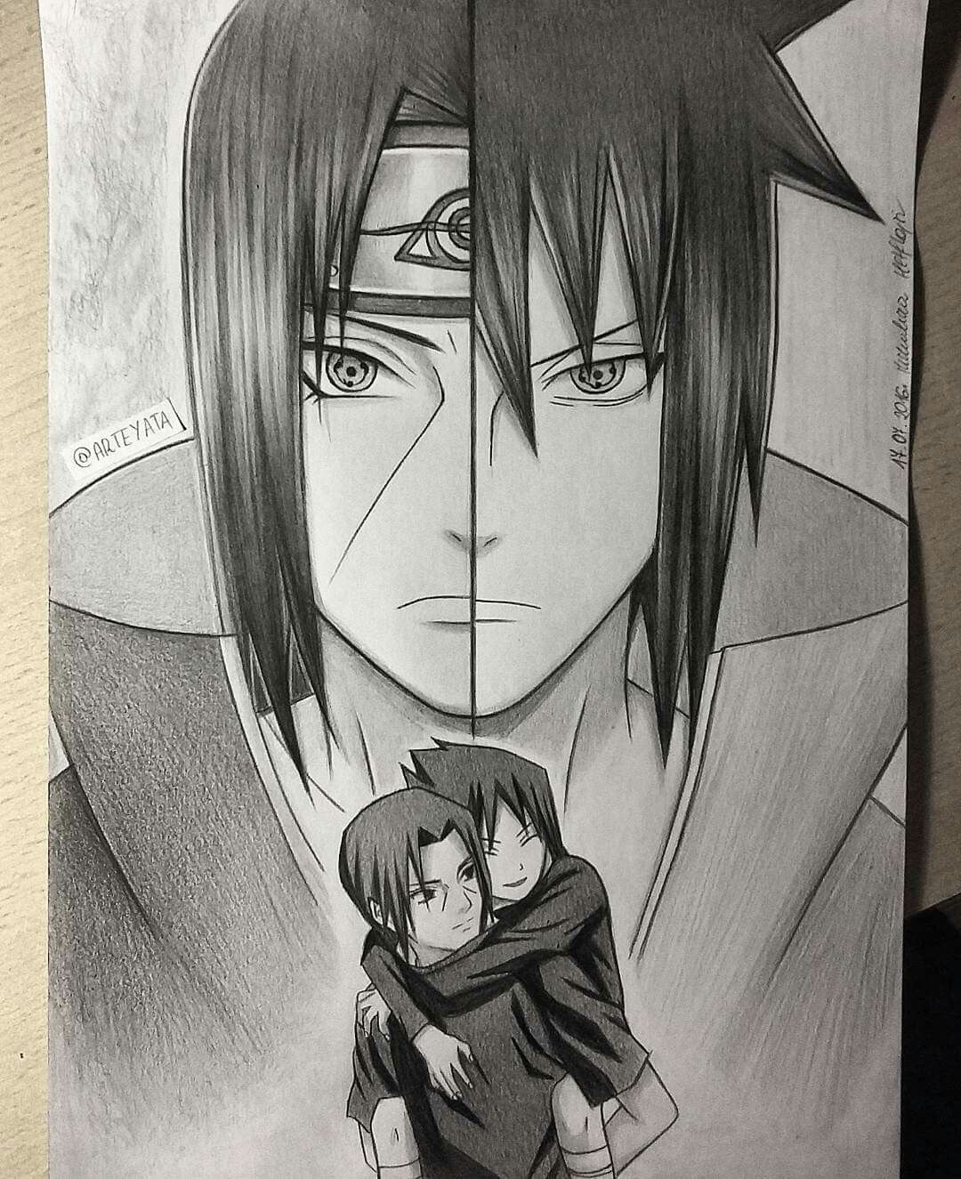 Sasuke and Itachi (not my drawing, credit to whoever did