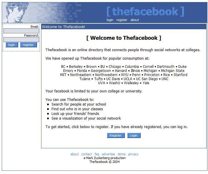Always Social Social Media Art A screenshot of thefacebook ca - unc optimal resume