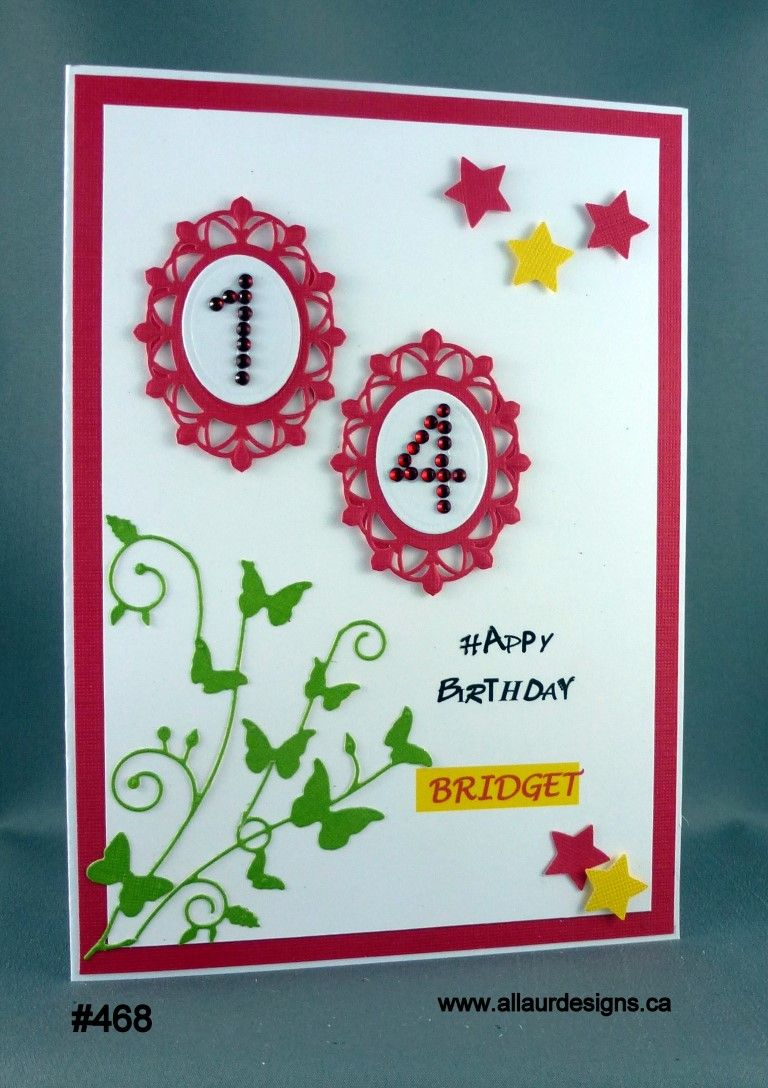 Birthday card for 14 year old bridget by allaurdesigns birthday card for 14 year old bridget by allaurdesigns bookmarktalkfo Image collections
