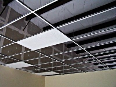 Suspended Ceiling Installation Dropped Ceiling Drop Ceiling Lighting Suspended Ceiling