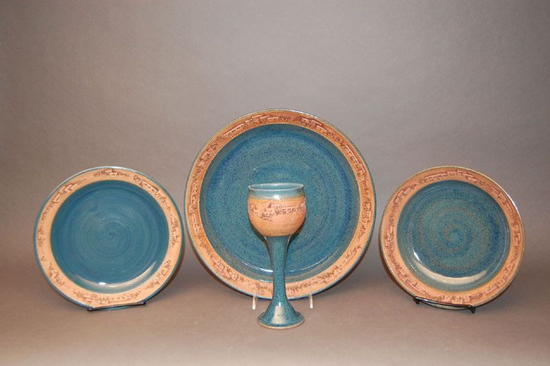 Native American Pattern Dinnerware | StonewareArtifacts.com ...