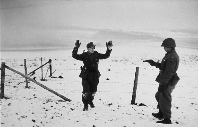 Image result for Wehrmacht in Bastogne 1945