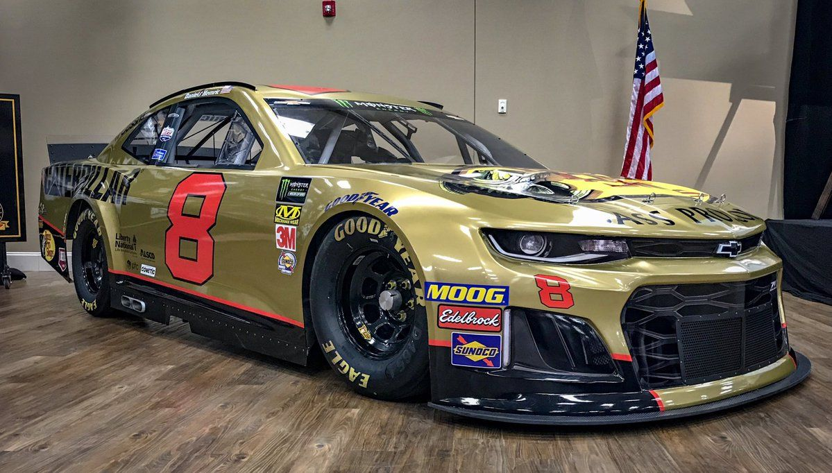 The Number 8 Will Return To Nascar In 2019 With Images Nascar