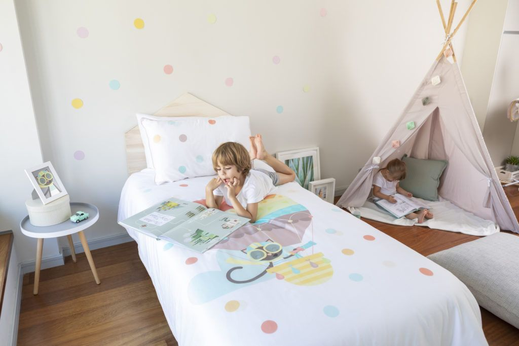 Wriggly Toes Cute Ethical Eco Friendly And Organic Bedding To Lull Your Kids To Sleep Kid Beds Bed Kids Room Art