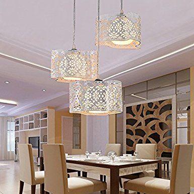 SB-creativo moderno fondata tre lampadari di testa e sospensione ...