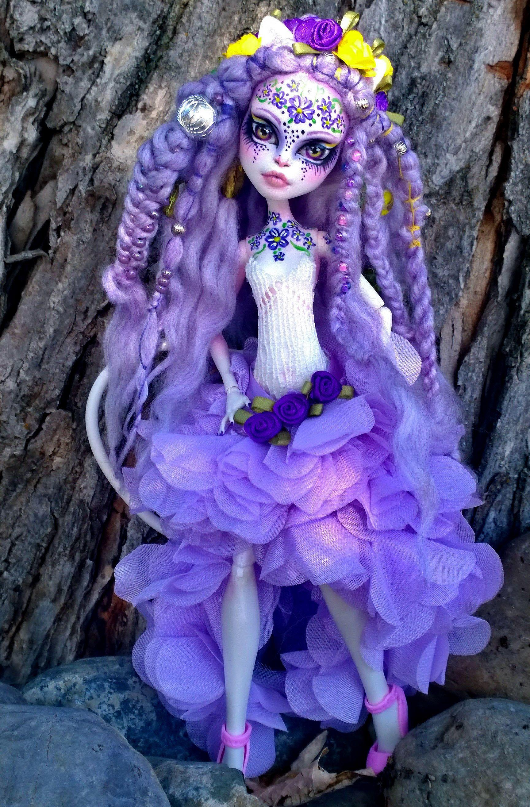 Catrine demew popular catrine demew doll buy cheap catrine demew doll -  Kv Tka Custom Ooak Catrine Demew Monster High Doll By Ladyspoonart