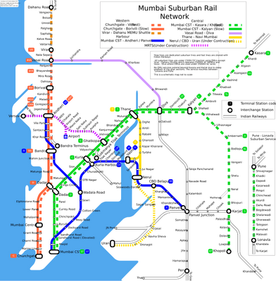 Mumbai Subway Map.Mumbai Metro Under Construction Through 2021 Metro Maps Of The