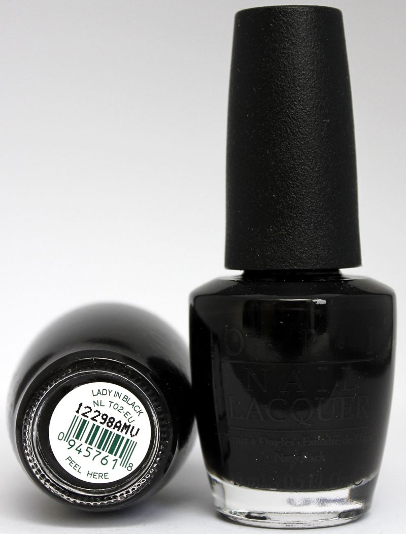 O.P.I. Lady in black   My Style   Pinterest