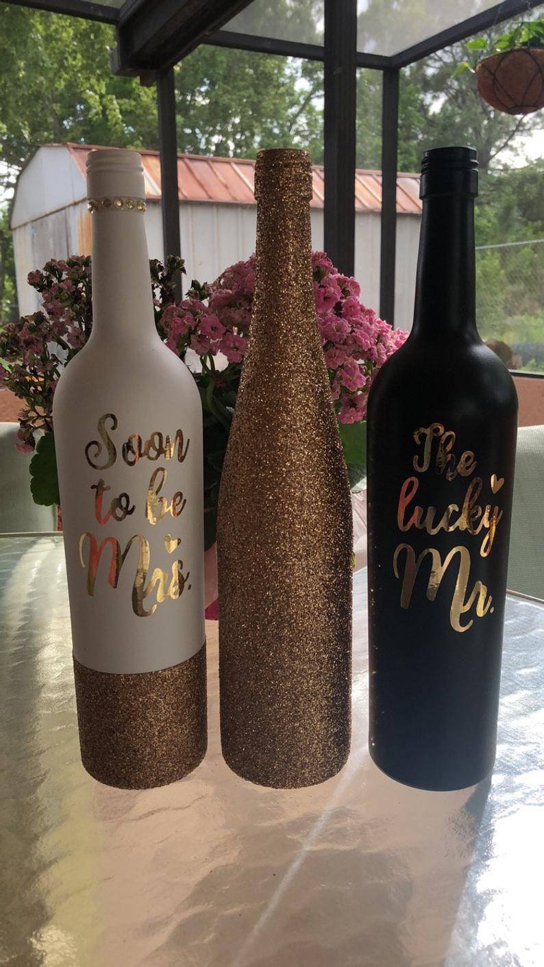 Pin on Wine bottle diy crafts