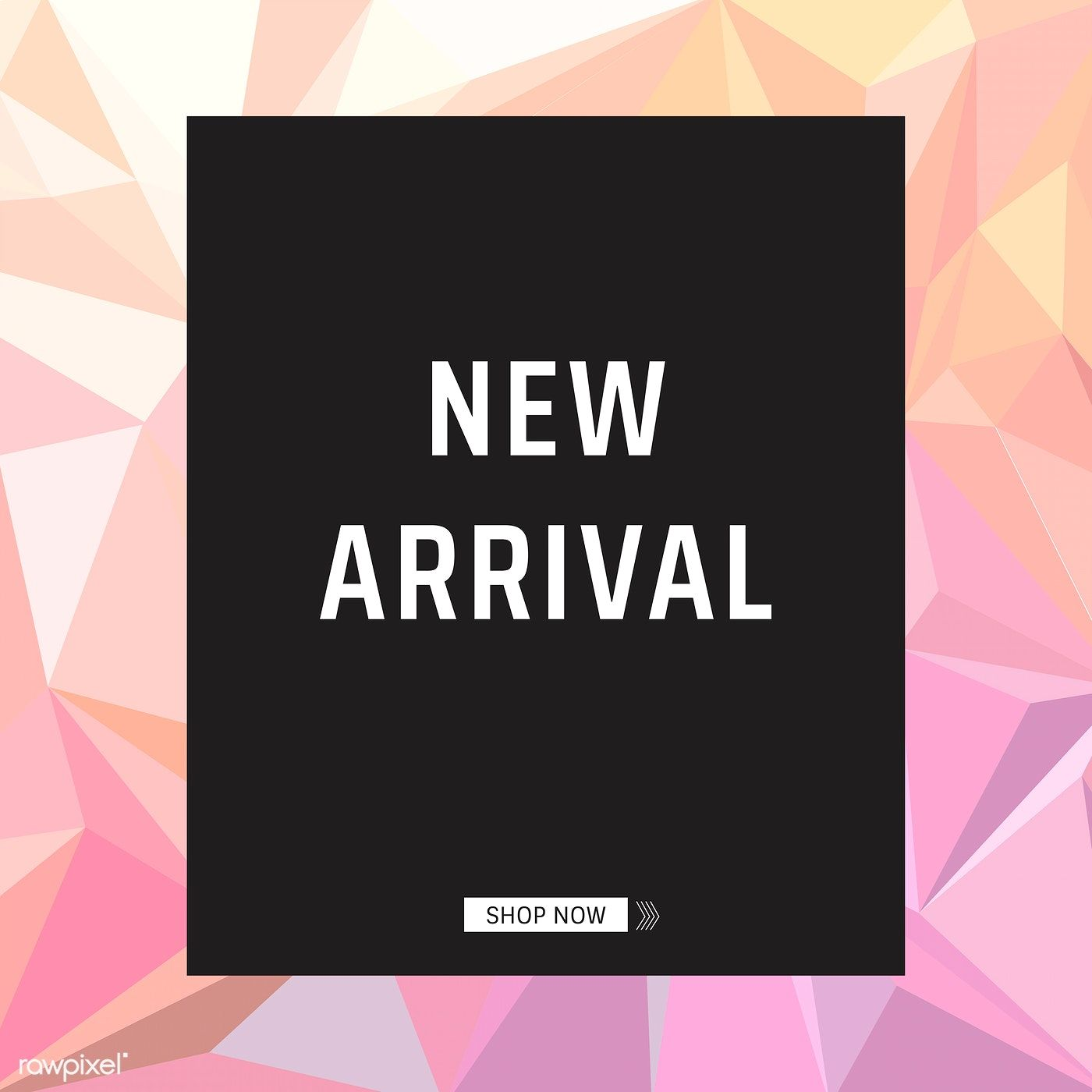 New arrival product announcement poster vector   free image by ...