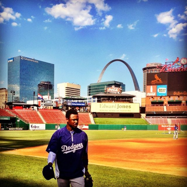 Hanley's first game as Dodger