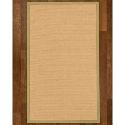 "Gracie Oaks Rupendra Sisal Sand Area Rug Rug Size: Runner 2'6"" X 8'"